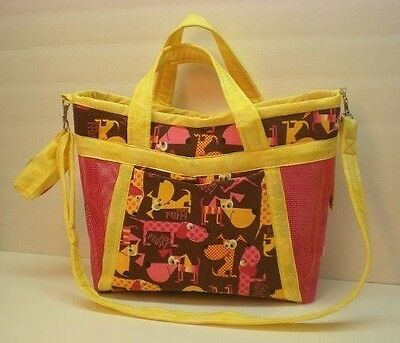 Handmade Obedience Article Bag Happy Hounds-Made in USA **CC**