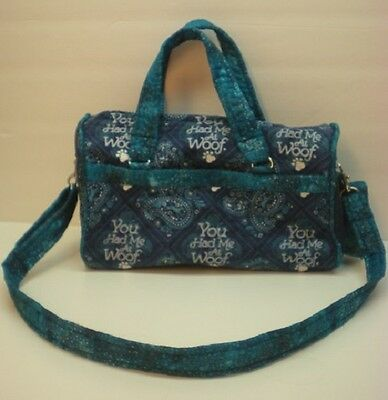 Handmade Obedience Article Bag-You Had Me At Woof-Made in USA **CC**