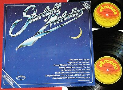 Starlight Melodies - DoLP  Various, Platters/Billy Vaughn/Percy Sledge/Sam Cooke