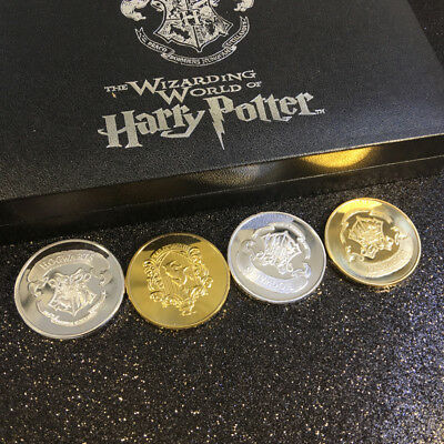 Harry Potter Collectable Coin Slytherin/Ravenclaw/ Hufflepuff/ Gryffindor Coins