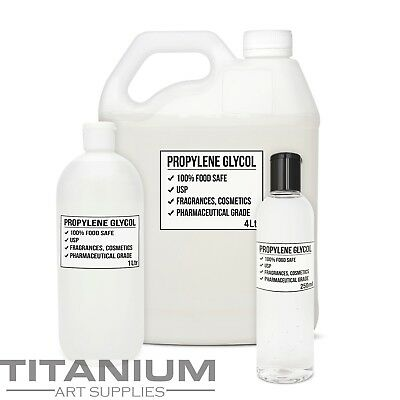 Propylene Glycol PG USP 250mL - 4 LTR Cosmetic & Food Grade Large Size