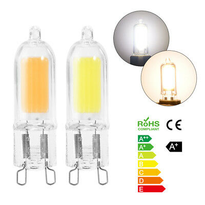 6PCS G9 8W LED Dimmable Light Clear Super Bright Ampoule Lampe Blanc Froid/Chaud