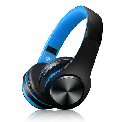 Bluetooth HD Stereo Sport Headset Foldable Earphone Anti Noise Headphone 128G TF