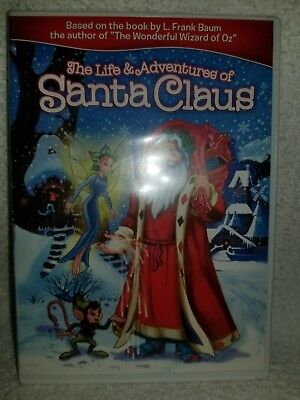 The Life & Adventures of Santa Claus (DVD, 2011) Widescreen Brand New Sealed