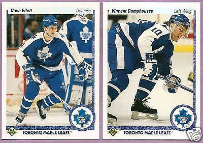 1990-91 Upper Deck Toronto Maple Leafs Team Set
