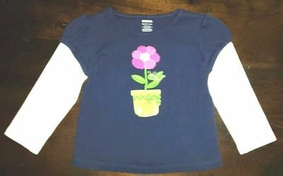 Gymboree Growing Flowers 5T Flower Dress Shirt with Collar 2012