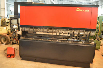 "138 Ton Amada ""fbd-1253F"" Cnc Up-Acting Hydraulic Press Brake - #28325"