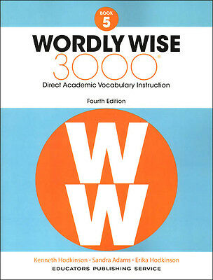 Wordly wise 3000 4th edition grade 5 set student book and answer 4th edition wordly wise 3000 grade 5 student new fandeluxe Images