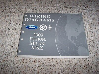 2006 ford fusion electrical wiring diagram manual s se sel 2 3l 3 0l 2010 Ford F-250 Wiring Diagram