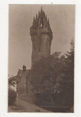 Wallace Monument Stirling Vintage Postcard 439a