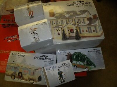 Dept 56 Christmas Vacation Griswold Set 6 Rv Car Todd Margo Snow Village New
