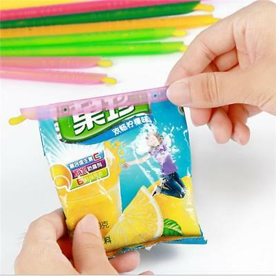 8/12PCS Seal Stick Storage Chip Bag Fresh Food Snack Clip Grip Coffee New B
