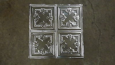 """TEN (10) 12-05 Tin Ceilings 12"""" pattern Victorian Design on 2 x 2 sheets panels"""