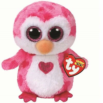 613dccc3ccc Ty Beanie Babies 36865 Boos Juliet the Valentines Penguin Boo