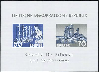 Germany 1963 Chemical Workers/Oil Refinery/Chemistry/Science imperf m/s (n43943)