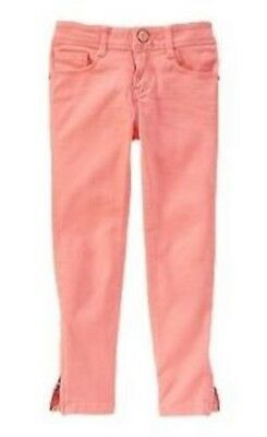 Gymboree NWT Girls Animal Party Coral Super Skinny Pants 4 5 6 7 8 10 10P & 12