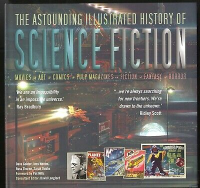 THE ASTOUNDING ILLUSTRATED HISTORY OF SCIENCE FICTION, Movies, Comics, Pulps