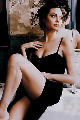 Angelina Jolie 8X10 /& Other Size /& Paper Type  PHOTO PICTURE aj83