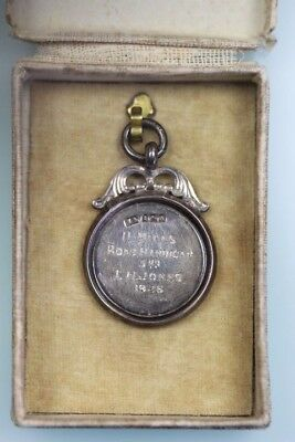 Gb 1926 Shaftesbury Harriers 11 Mile Road Handicap Sports Medal Awarded T Jones