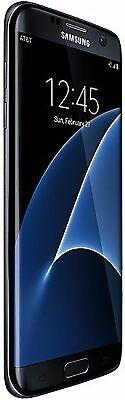 New Samsung Galaxy S7 Edge G935A AT&T Unlocked 4G 32GB Android Smartphone Black