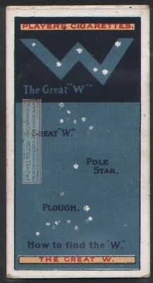 The Great W Star Pole  Astronomy Science 100+ Y/O Trade Ad Card
