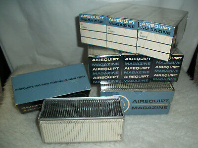 "vintage airequipt magazine ( 10 ) projector tray model p  2"" x 2""  brand new"