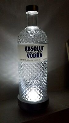 Absolut Vodka Glimmer Limited Edition SUPER RARE Store Display Bottle