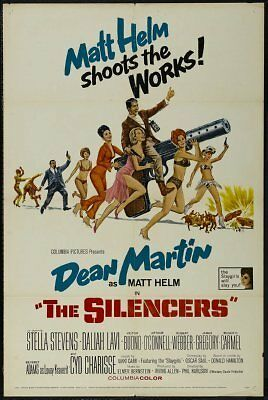 The Silencers Movie Poster 24inx36in (61cm x 91cm)