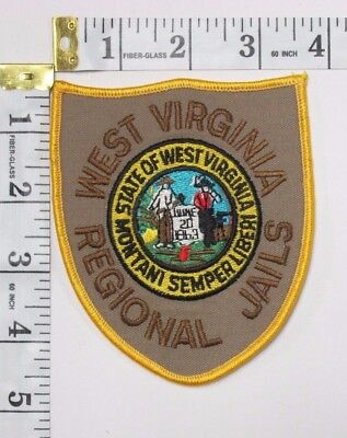 West Virginia Regional Jails  Shoulder Patch