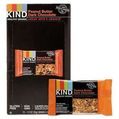 KIND Healthy Grains Bar, Peanut Butter Dark Chocolate, 1.2 oz, 12 602652184086