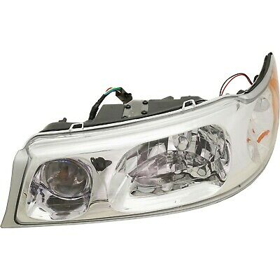 Headlight For 98-2002 Lincoln Town Car Driver Side w/ bulb