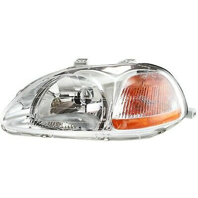 Headlight For 96-98 Honda Civic Driver Side