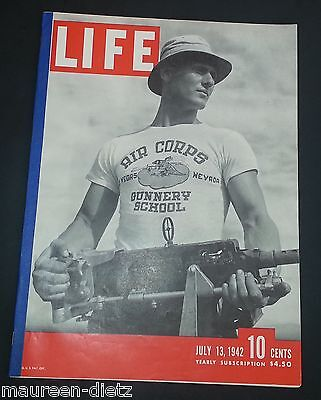July 13, 1942 LIFE Magazine Old Ads ad 40s advertising add adds  FREE SHIPPING 7