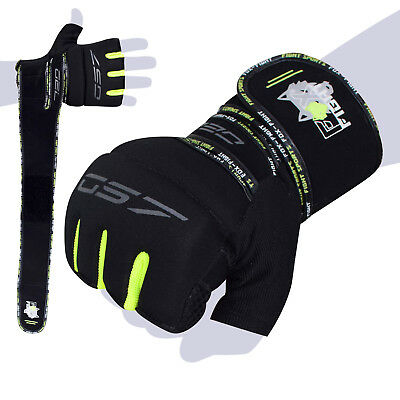 FOX-FIGHT GS7 Gel Trainings Handschuhe Neopren UFC Mma Grappling Boxhandschuhe
