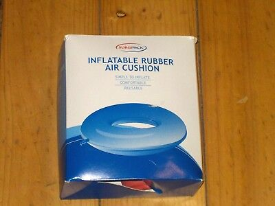 2 New Surgipack Heavy Duty Rubber Ring Surgical Comfort Disabled Post Operative