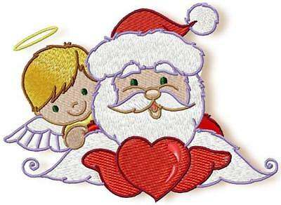 Santa With Friends 10 Machine Embroidery Designs Cd 3 Sizes