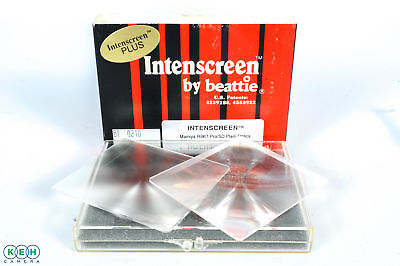 Beattie Intenscreen for Mamiya RB67 Pro/SD Plain Optics w/o Frame