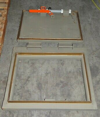 Jaycor NMST RF Shielded Mil-Spec Steel Emergency Hatch Door P/N: 9376-001