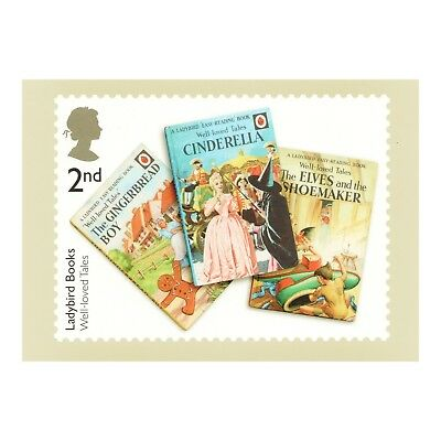 Ladybird Books - Well Loved Tales - Book Front Cover Royal Mail Phq 434 Postcard