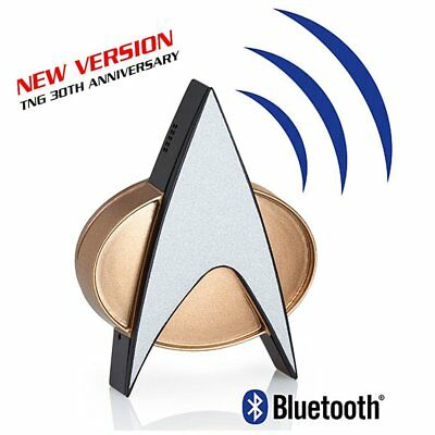 Bluetooth Communicator Star Trek The Next Generation 2. verbesserte Edition neu