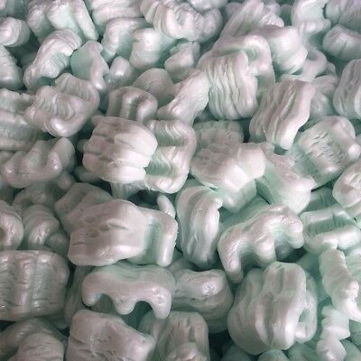 Packing Peanuts Shipping Anti Static Loose Fill 30 Gallons 4 Cubic Feet Green