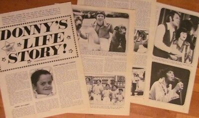 Donny Osmond, The Osmonds Brothers, Great Vintage Clipping