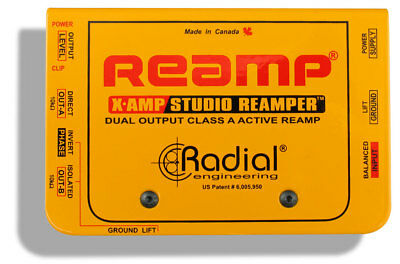 Radial X-Amp Active Re-Amplifier Class A witih Overload LED