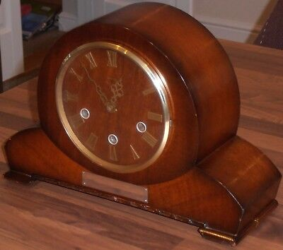 Vintage 1950's Smiths Westminster Chime Mantel Clock