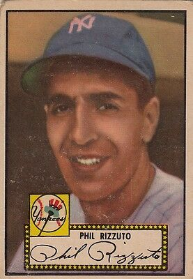 Topps 1952 #11 Phil Rizzuto-Hall Of Famer-New York Yankees