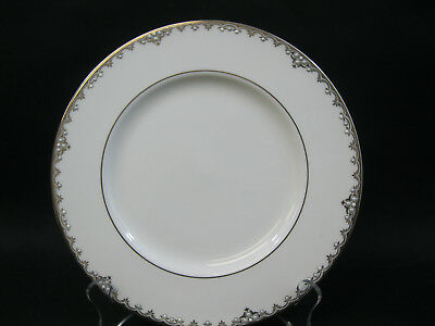 """Lenox Federal Platinum~(1)~9 3/8""""  Accent Luncheon Plate~New~1st Quality~DW Safe"""