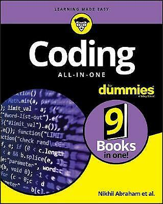 Coding All-in-One For Dummies, Abraham, Nikhil