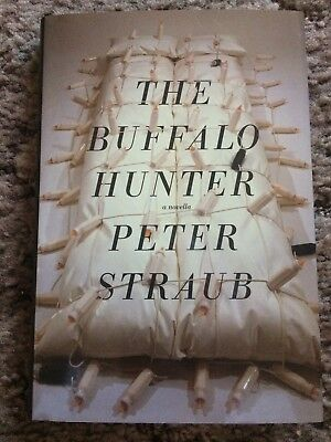 THE BUFFALO HUNTER Peter Straub 1st trade HC CD PUBLICATIONS fine OUT OF PRINT