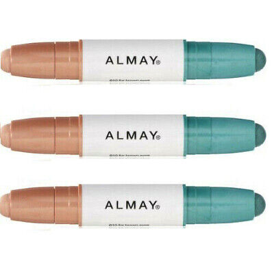 Lot of 2: NEW Almay Intense I-Color Eye Shadow Stick for Brown Eyes 010 (Sealed)