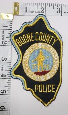 Boone County Kentucky Police Department Shoulder Patch
